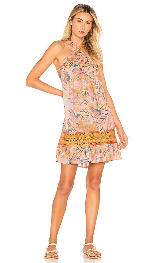 lovewave Sumantran Mini Dress in Orange