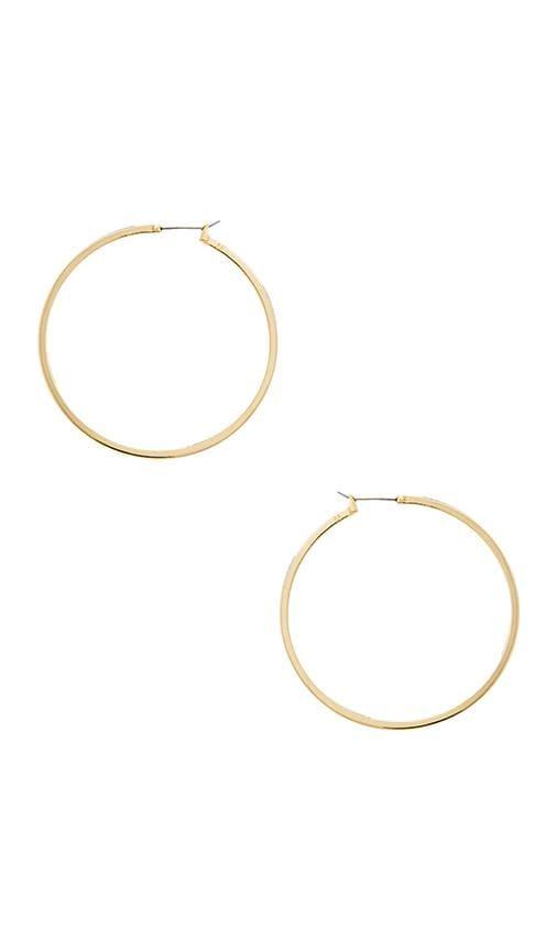 Large Perfect Hoop Earring