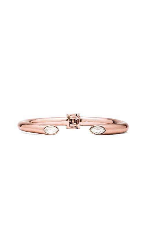Marquise Crystal Hinged Bracelet