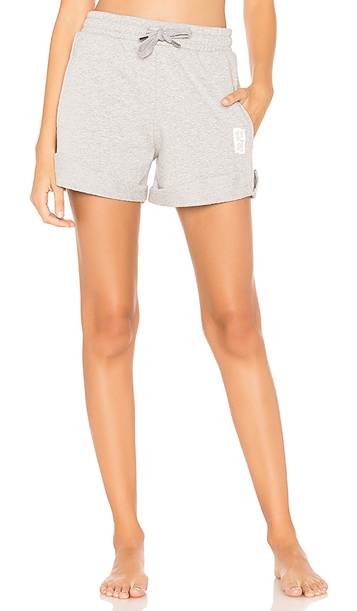 les girls les boys Loopback Short in Gray