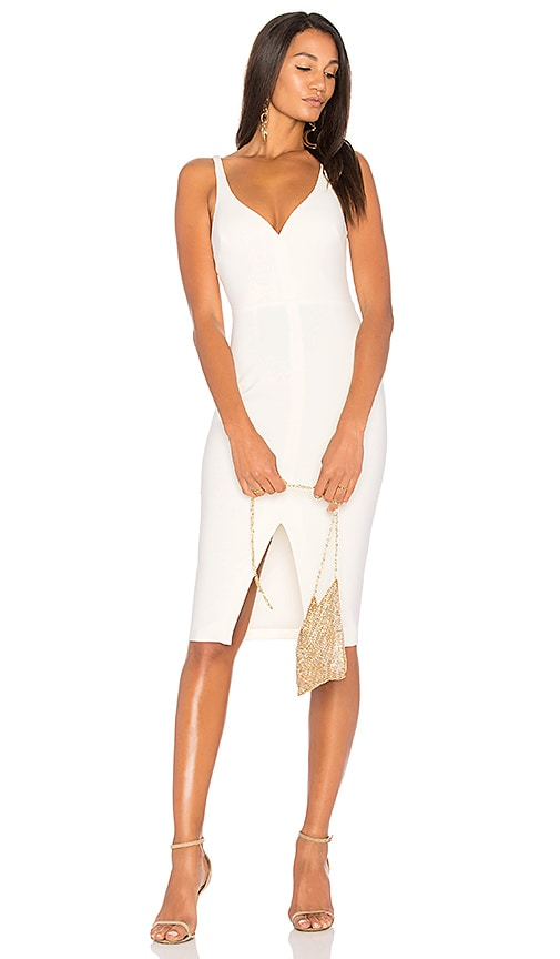 LIKELY Cortey Dress in White