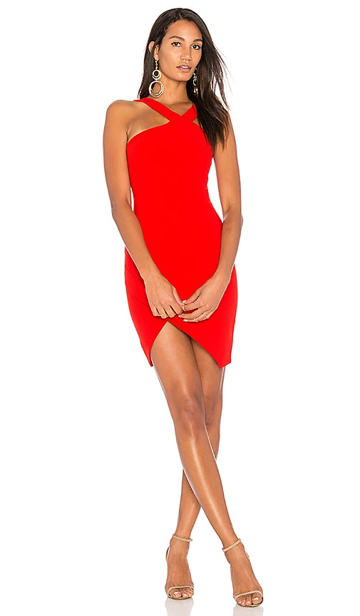 LIKELY Glenchester Dress in Red