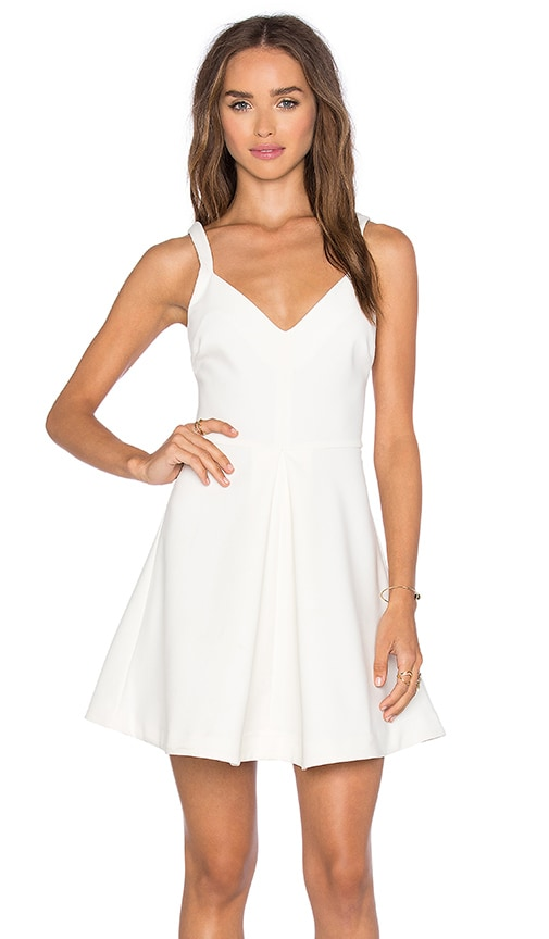 LIKELY Delancey Dress in Ivory