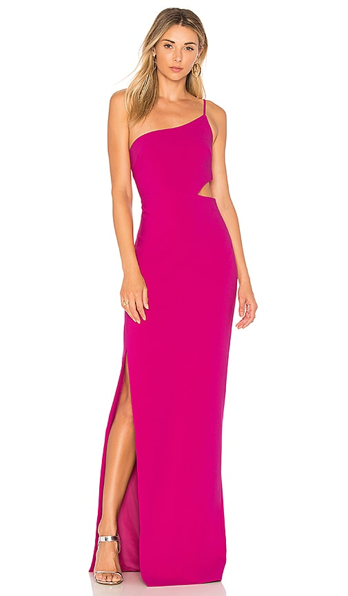 LIKELY Leann Gown in Pink