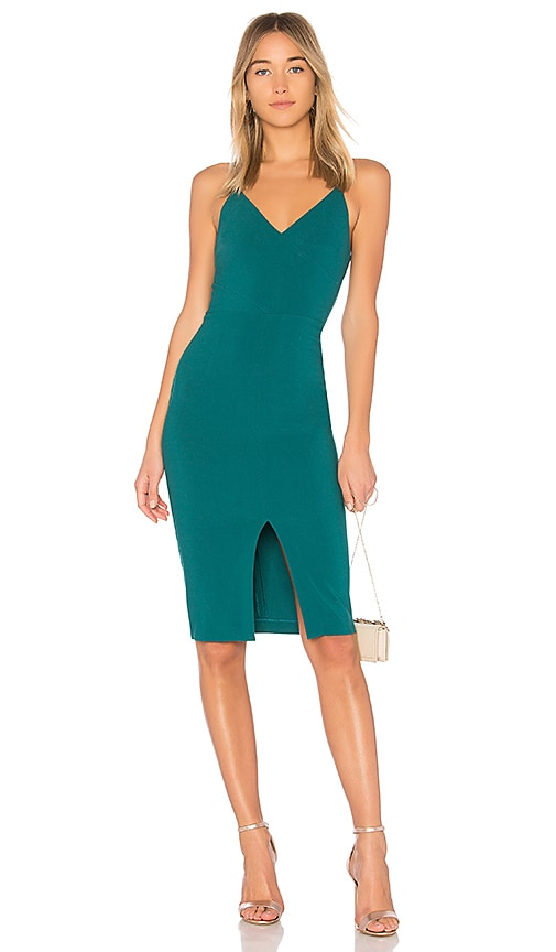 LIKELY Brooklyn Dress in Green
