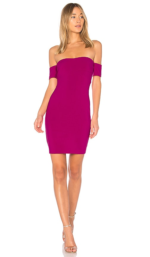 LIKELY Ainsley Dress in Fuchsia