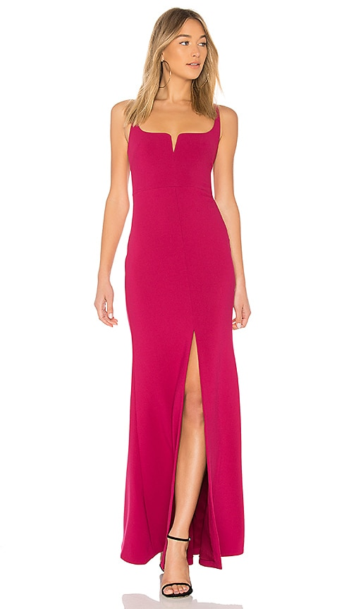 6f29aee2ea Nookie Boulevard Gown In Flame Revolve