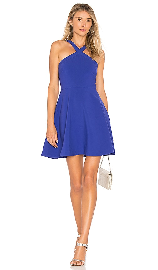 LIKELY Ashland Dress in Blue