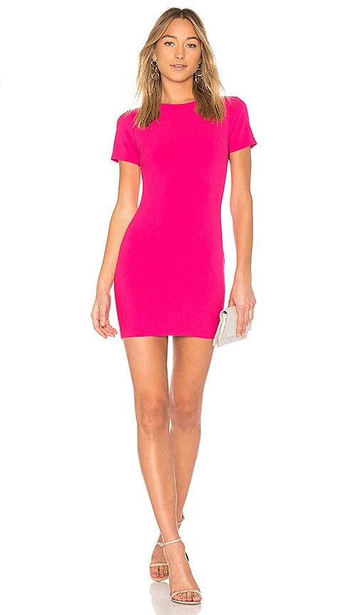 LIKELY Manhattan Dress in Fuchsia