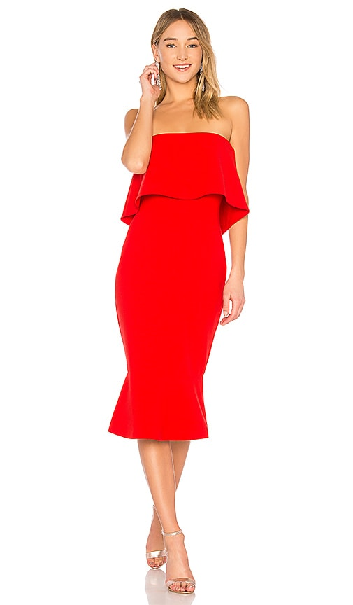 LIKELY Conrad Dress in Red