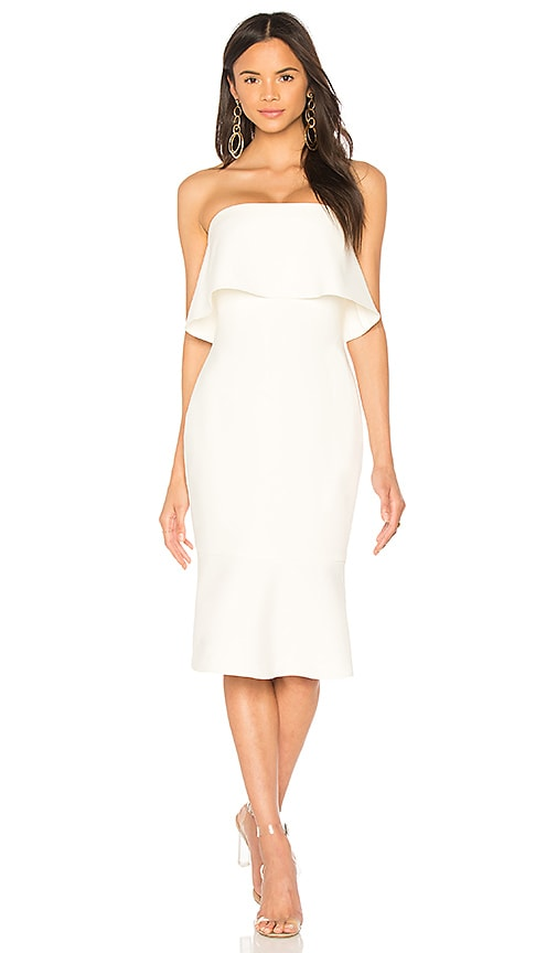 LIKELY Conrad Dress in White