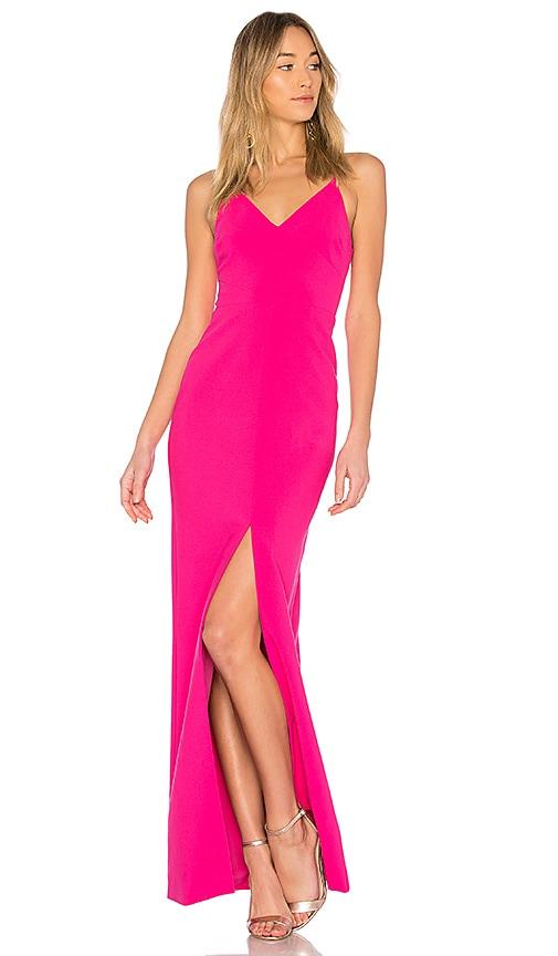 LIKELY Brooklyn Gown in Fuschia | REVOLVE