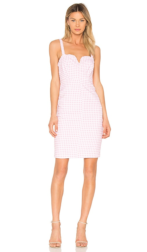 LIKELY Keeley Dress in Pink