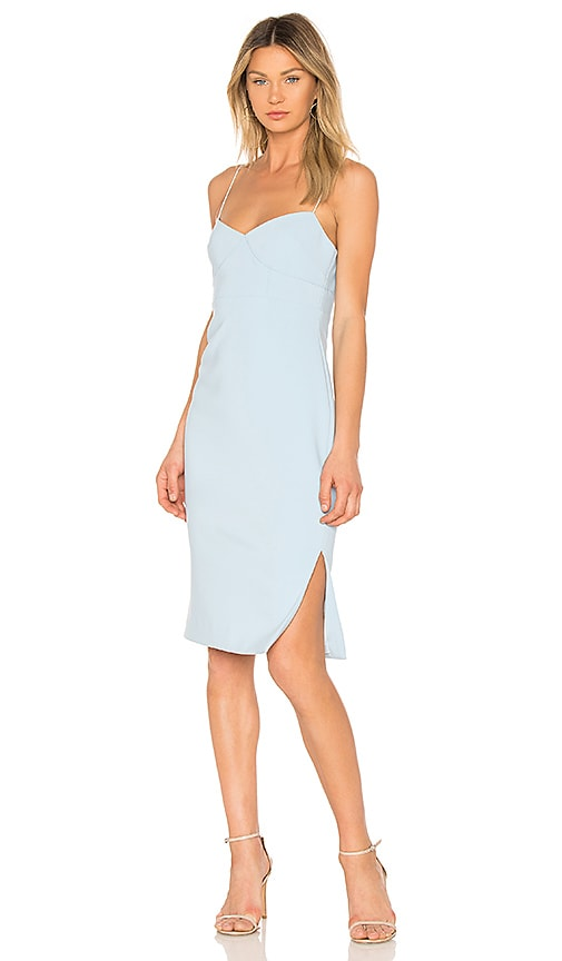 LIKELY Caprio Dress in Baby Blue