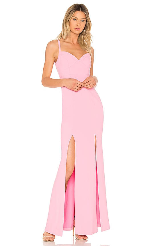 LIKELY Alameda Gown in Pink