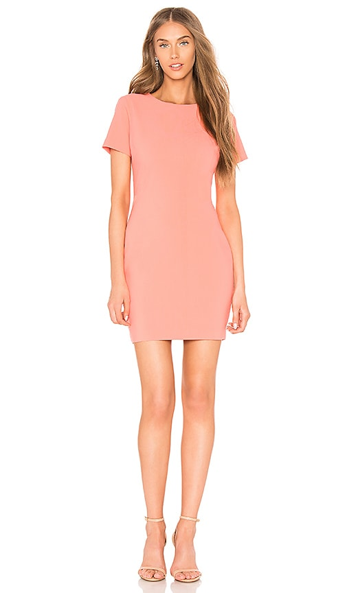 LIKELY Manhattan Dress in Coral