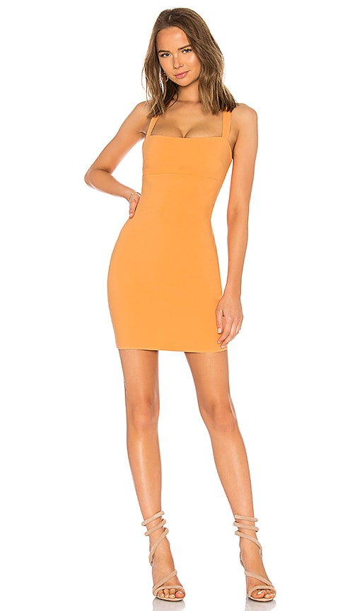 LIKELY Nahla Dress in Orange