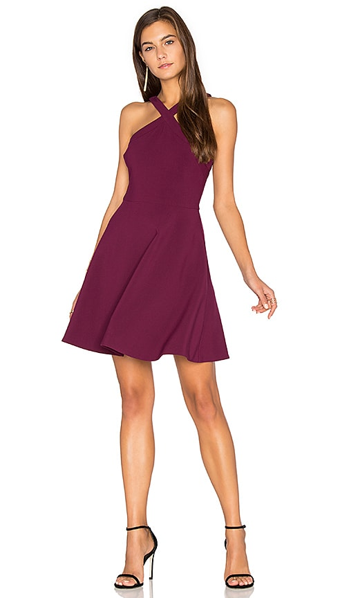 LIKELY Ashland Dress in Fuchsia