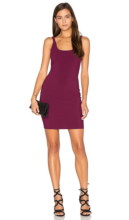 LIKELY Houston Dress in Fuchsia