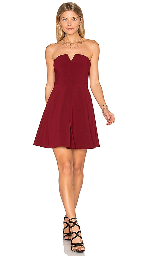 LIKELY Knowlton Dress in Red