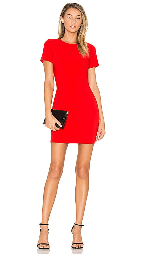 LIKELY Manhattan Dress in Red
