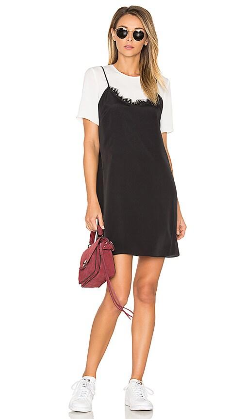 LIKELY Kinney Dress in Black & White