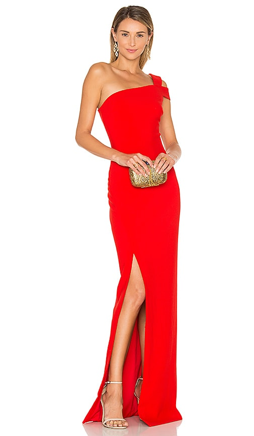 LIKELY Maxson Gown in Red