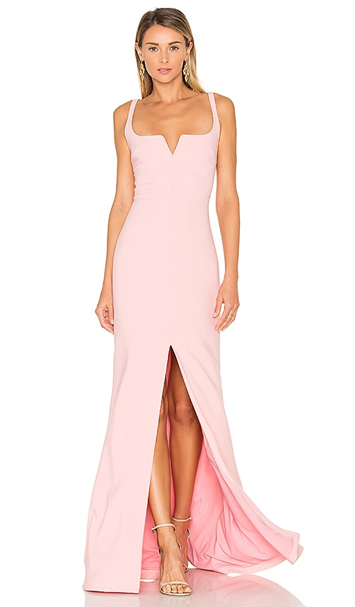 LIKELY Constance Gown in Pink