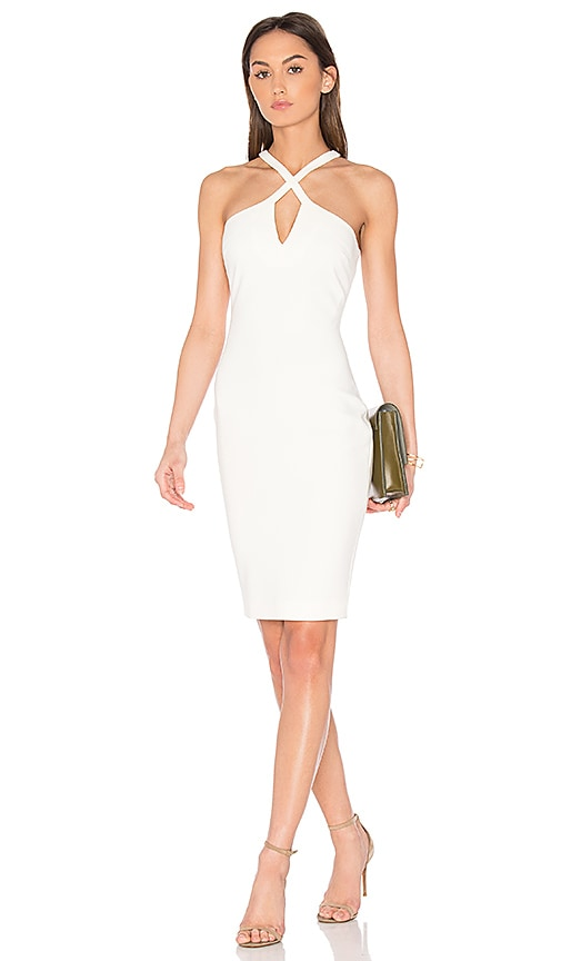 LIKELY Charles Dress in White