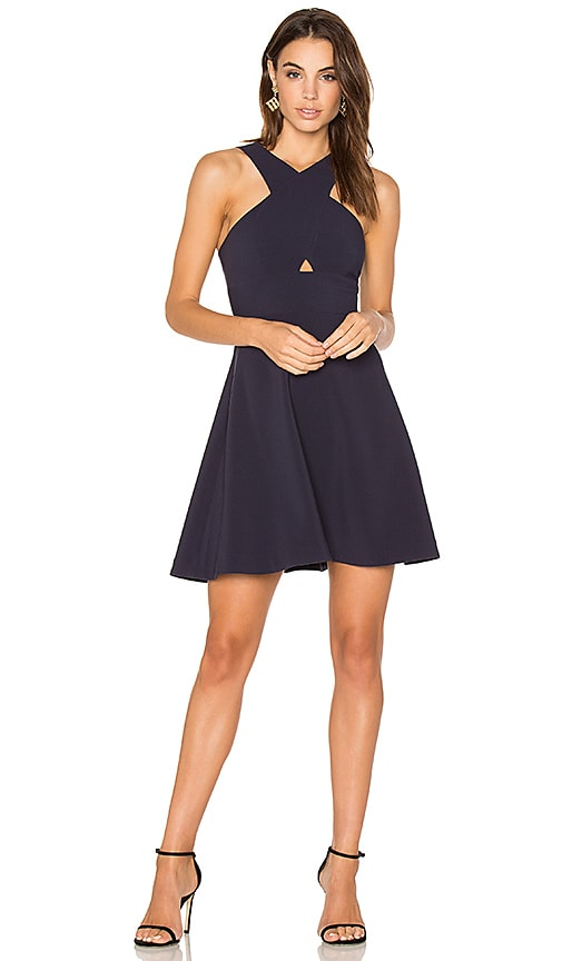 LIKELY Kensington Dress in Blue
