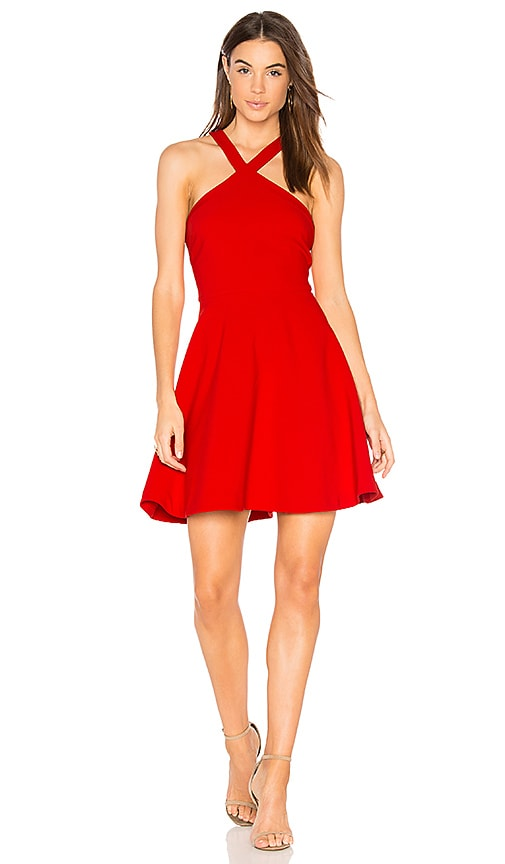 LIKELY Ashland Dress in Red