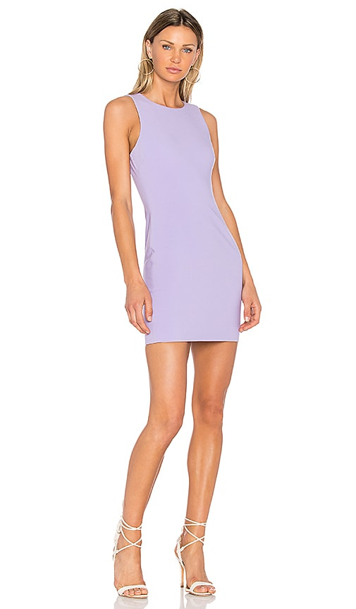LIKELY Sleeveless Manhattan Dress in Purple
