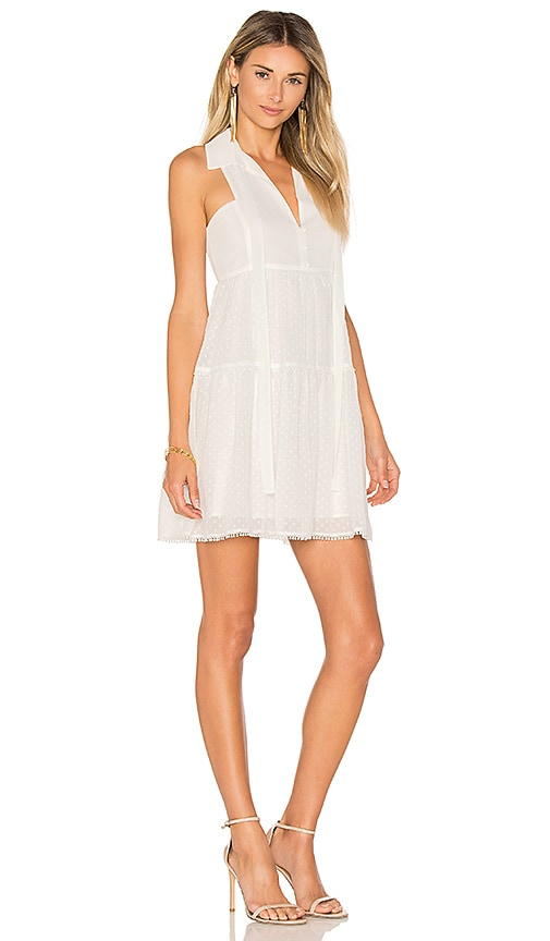 LIKELY Tacoma Dress in White