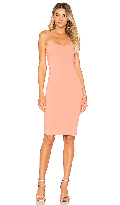 LIKELY Laurens Dress in Coral