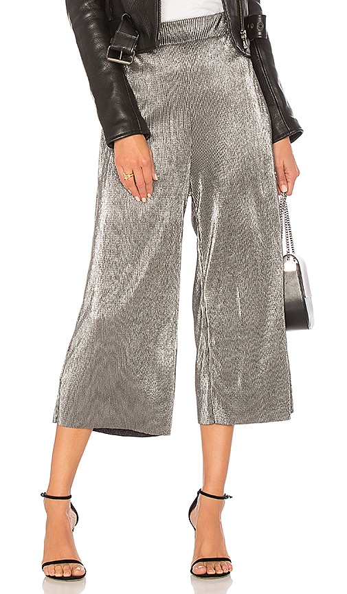 LIKELY Olivia Pant in Metallic Silver