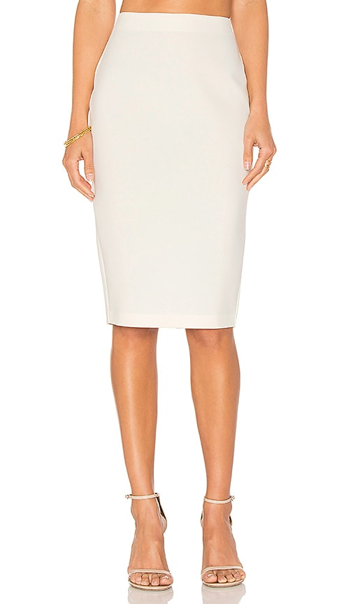 LIKELY Tallow Skirt in White