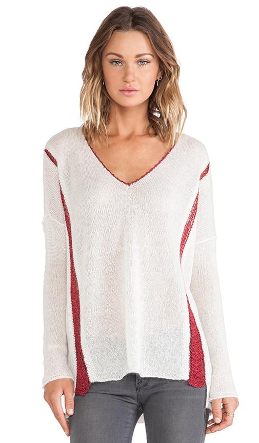 Dubai Pullover with Crochet