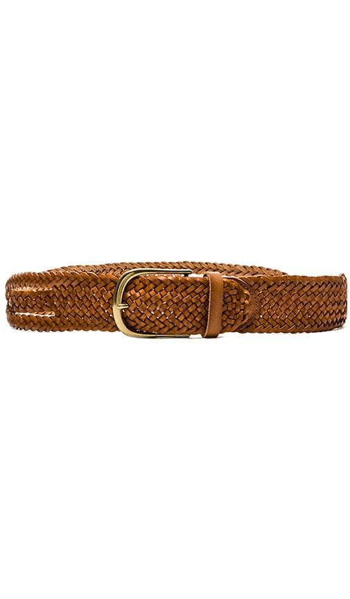 Side Twisted Braid Vintage Belt