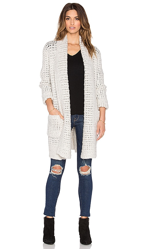 Line Barclay Oversized Cardigan in Avalanche