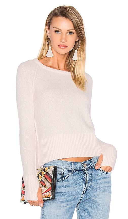 Line Noelle Sweater in Pink