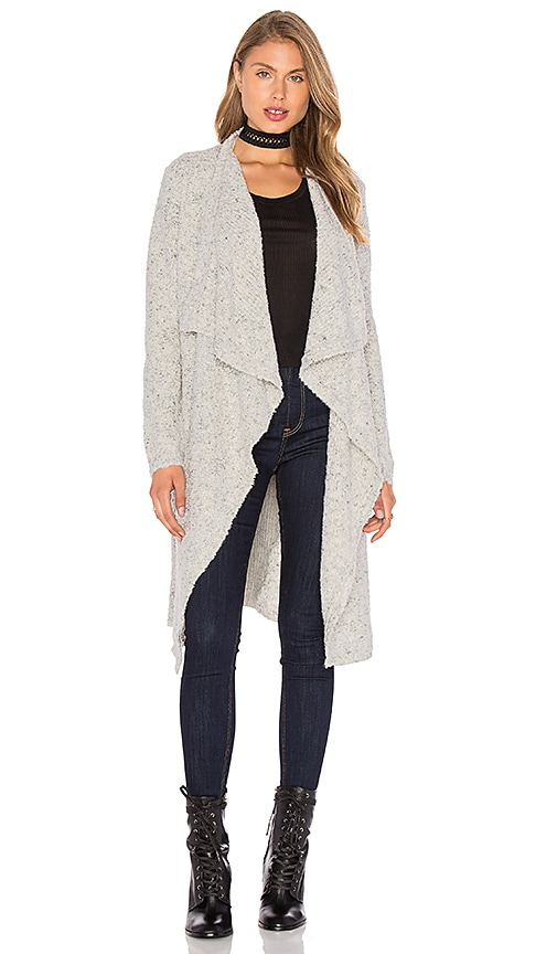 Line Abigail Cardigan in Light Gray