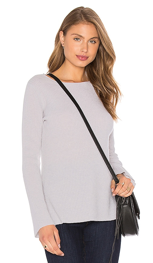 Line Gavin Bell Sleeve Sweater in Grey