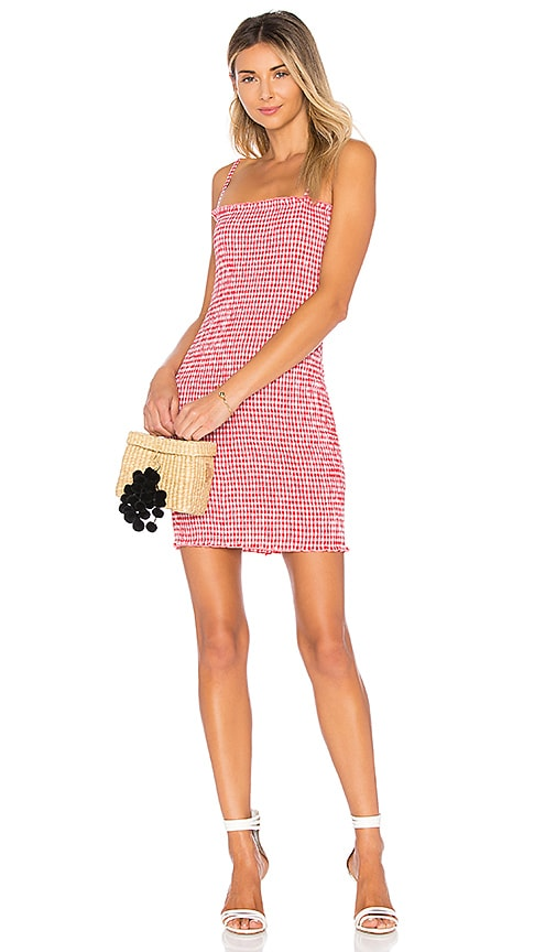 Havana Smocked Mini Dress
