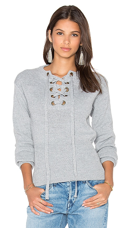 LIONESS Sicily In Dusk Sweater in Gray