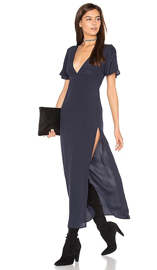 Lisakai Maxi Dress in Navy