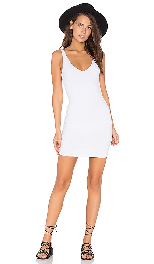 Lisakai Tank Dress in White