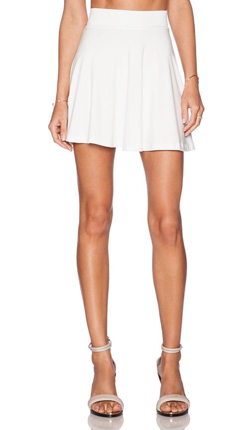 Lisakai Mini Skirt in Ivory