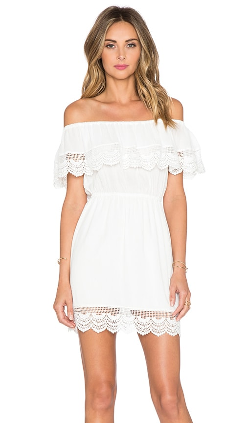 Chelsea Tiered Lace Dress