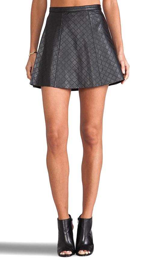 Legs Legs Legs Quilted Skirt