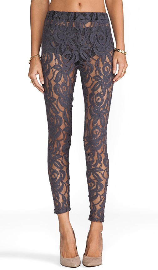 Hunting Begins Lace Leggings